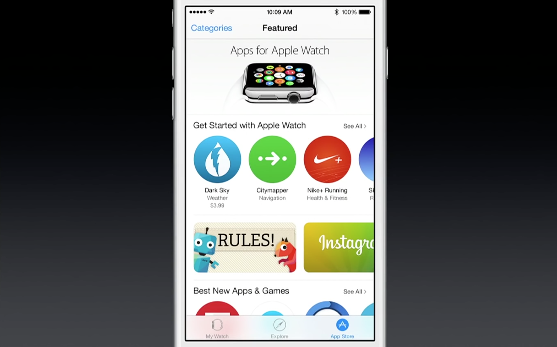 Apple Watch App Store
