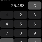 Creating a Number Keypad for Apple Watch